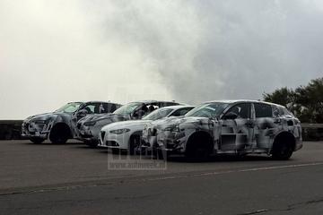 Alfa Romeo Stelvio trekt jas uit
