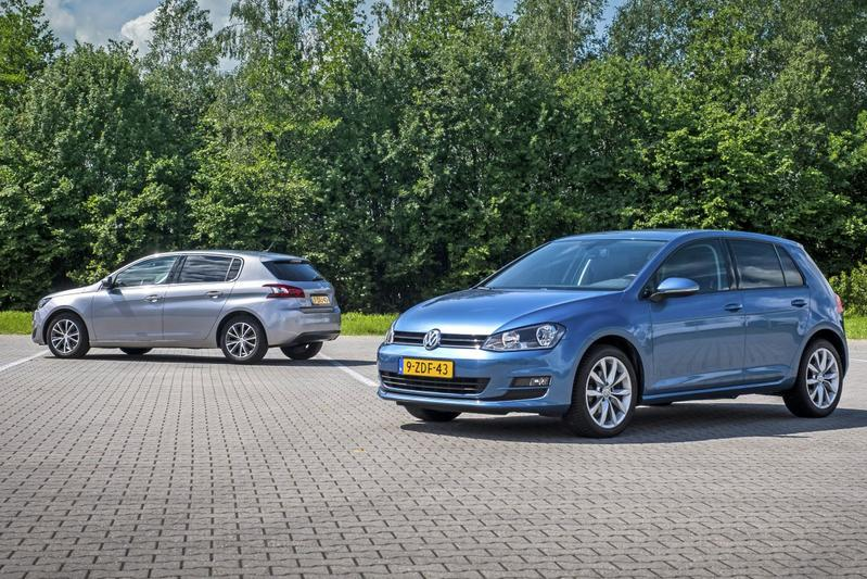 Peugeot 308 - Volkswagen Golf - Occasiondubbeltest
