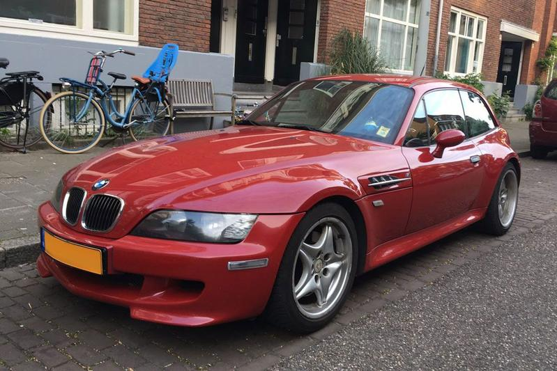 In het wild: BMW M Coupé (1999)