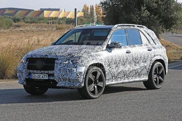Mercedes-Benz GLE-klasse - Spionage