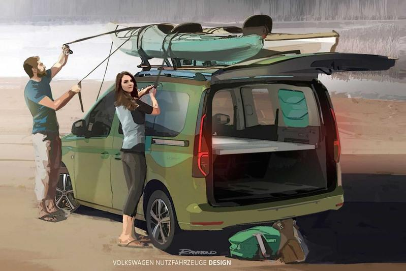 Volkswagen Caddy Mini-Camper teaser