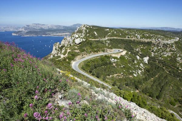 Rit naar Côte d'Azur Peugeot 404 cabrio