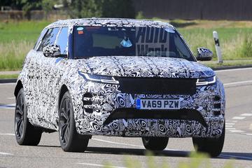 Land Rover test verlengde Range Rover Evoque