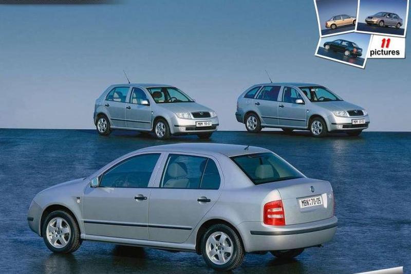 Skoda Fabia Sedan 1.4 68pk Comfort (2001)