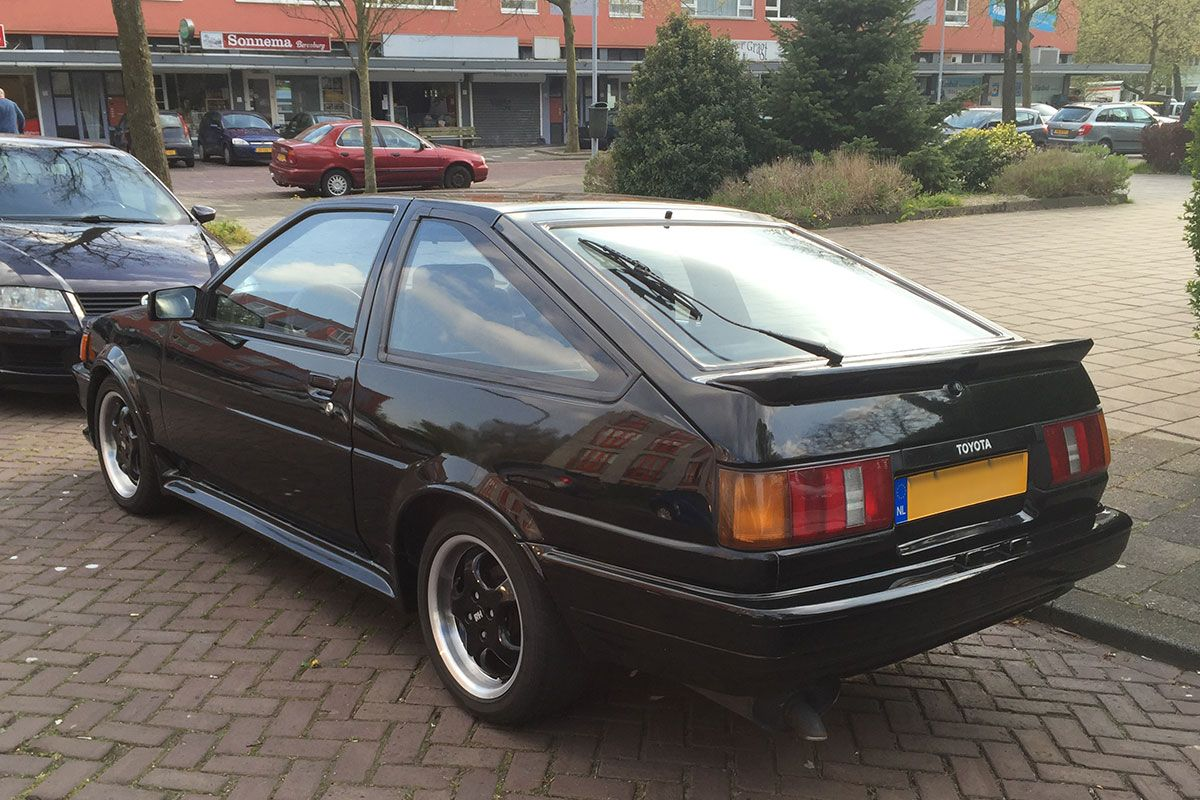 in het wild toyota ae86 1 6 gt 1986 autonieuws. Black Bedroom Furniture Sets. Home Design Ideas