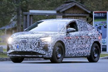 Elektrische Audi Q4 Sportback e-tron in beeld