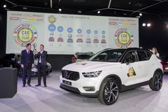 Volvo XC40 is de Auto van het jaar 2018