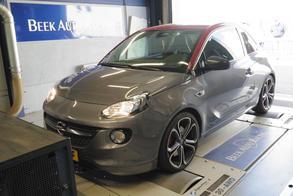 Opel Adam S - Op de Rollenbank