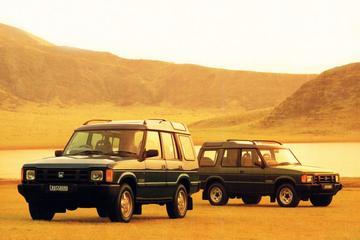 De Tweeling: Land Rover Disco' - Honda Crossroad