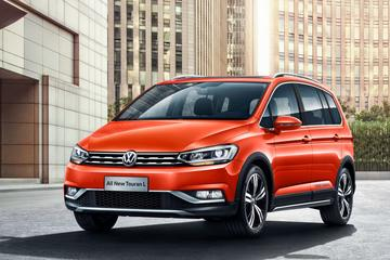 Volkswagen Cross Touran puur voor China