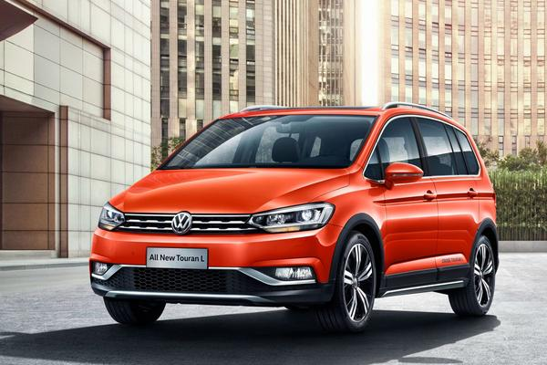 Volkswagen Cross Touran puur voor China
