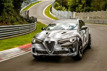 Ook Alfa Romeo Stelvio Q breekt Ringrecord