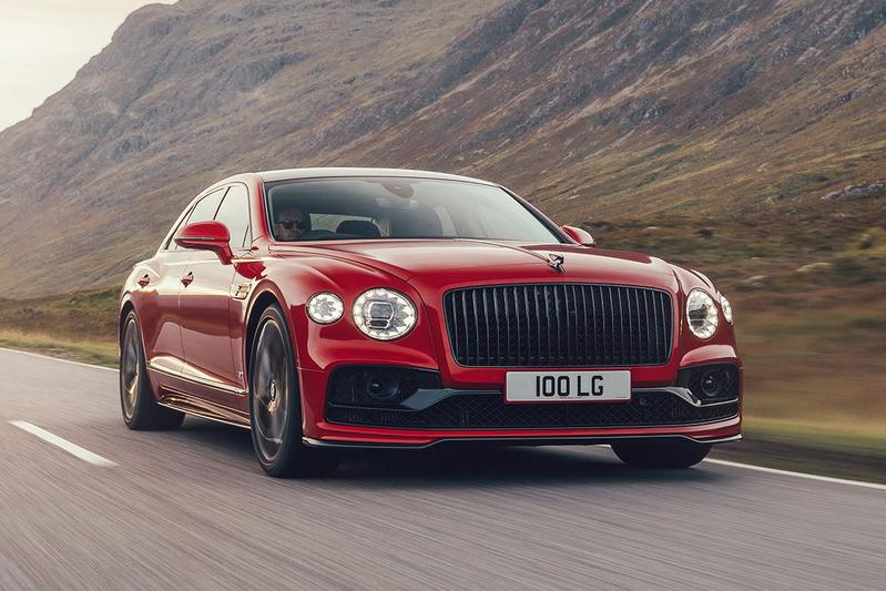 Bentley Flying Spur V8 - Eerste rijtest