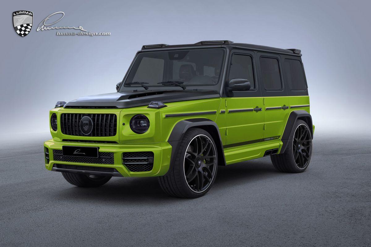 Mercedes Amg G63 Volgens Lumma Design Autoweek Nl