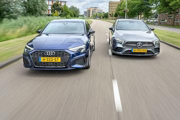 Audi A3 Sportback vs. Mercedes-Benz A180 - Dubbeltest