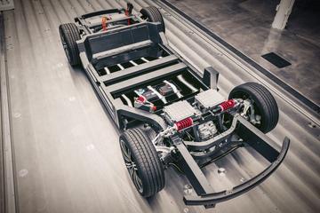 Karma toont platform voor elektrische sportauto