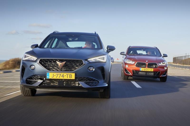 Cupra Formentor vs. BMW X2 - Dubbeltest