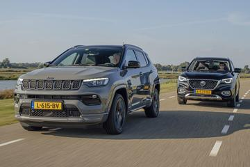 Jeep Compass vs. MG EHS - Dubbeltest