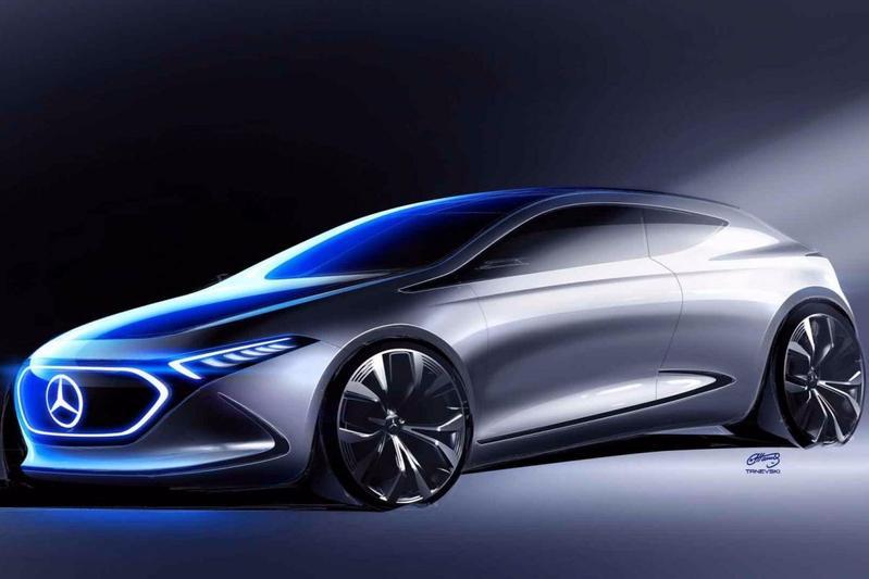 Mercedes-Benz schetst Concept EQA