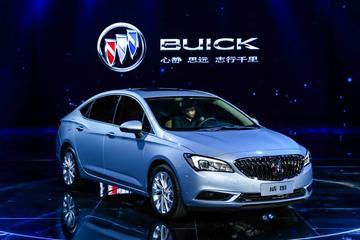Buick Verano schittert in Shanghai