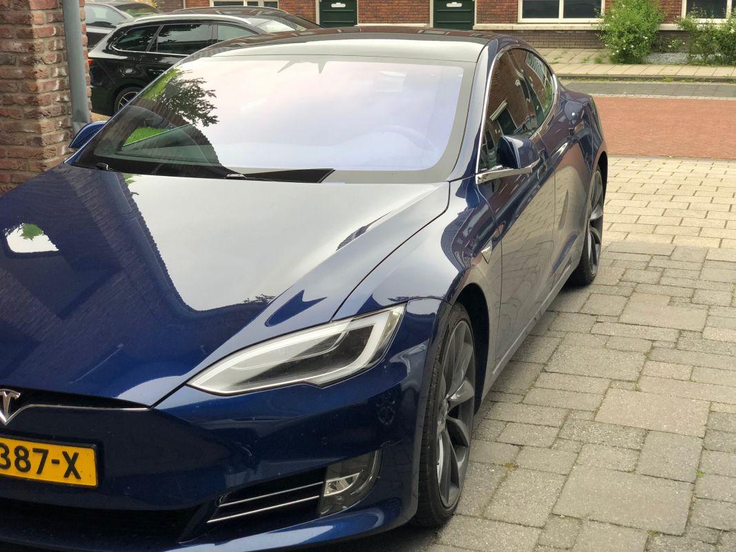 Actieradius Tesla Model S 100d