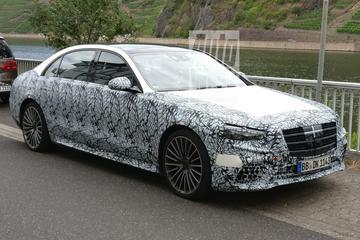 Nieuwe Mercedes-Benz S-klasse duikt weer op