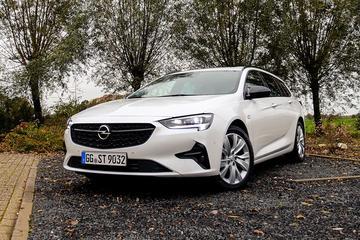 Opel Insignia - Rij-impressie