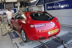 Alfa Romeo Brera 2.2 JTS - Op de Rollenbank