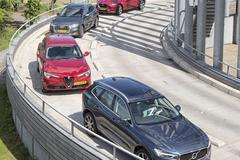 Alfa Romeo Stelvio - Audi Q5 - Jaguar F-Pace - Volvo XC60