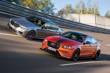 BMW M5 Competition - Jaguar XE Project 8