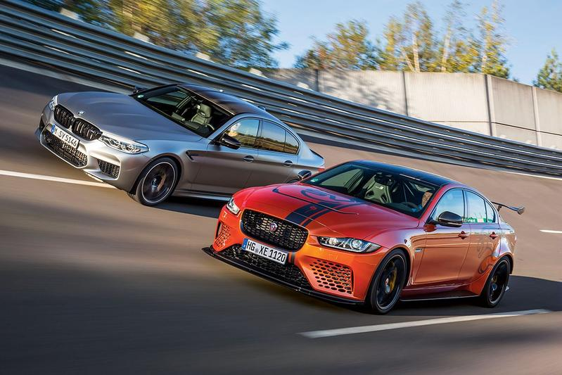 BMW M5 Competition - Jaguar XE Project 8