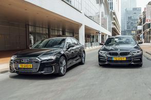 Audi A6 vs. BMW 5-serie - Dubbeltest