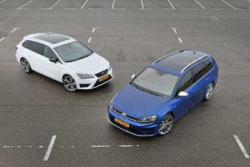 Volkswagen Golf R Variant - Seat Leon ST Cupra