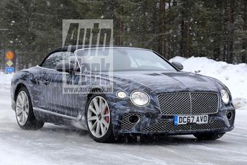 Gesnapt: Bentley Continental GTC