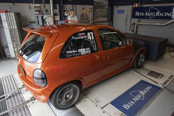 Opel Corsa GSI - Op de rollenbank