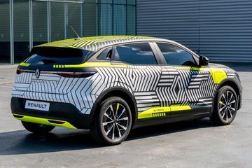 Elektrische Renault Mégane naar IAA
