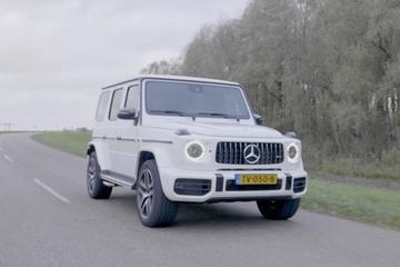 Mercedes-AMG G 63 - Rij-impressie