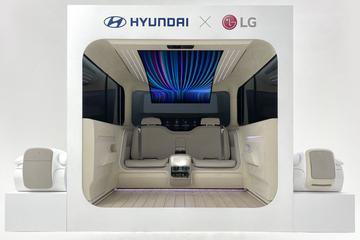 Hyundai's Ioniq Concept Cabin toont binnenkant EV's