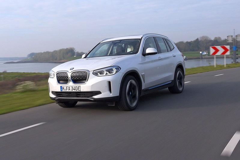 BMW iX3 - Rij-impressie