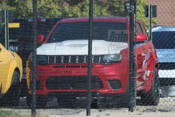 Mysterieuze Jeep Grand Cherokee Trackhawk 'Demon' gesnapt