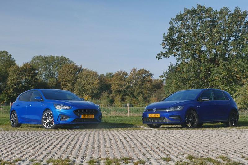 Ford Focus vs. Volkswagen Golf - Dubbeltest