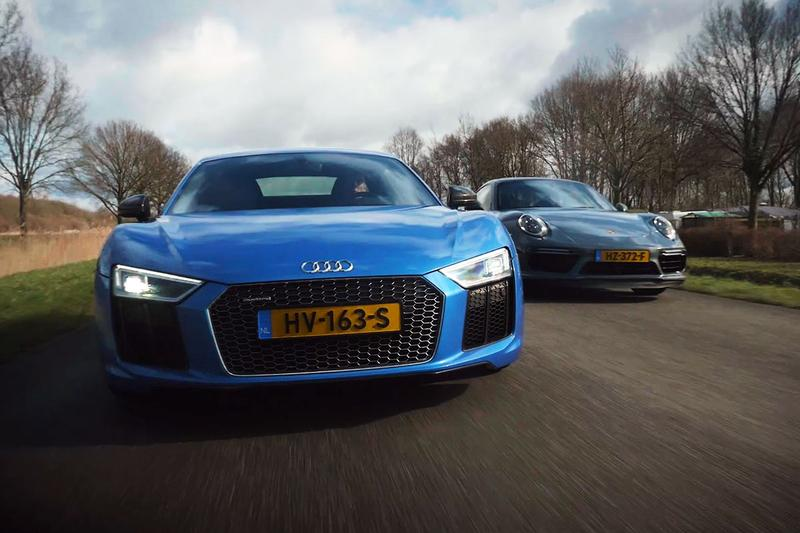 Dubbeltest: Audi R8 V10 Plus vs Porsche 911 Turbo S