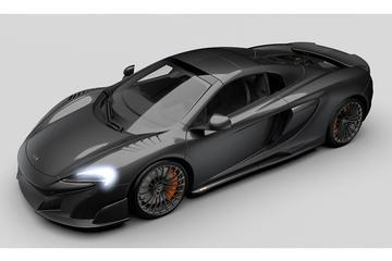 Dubbel gelimiteerd: McLaren 675LT Spider MSO