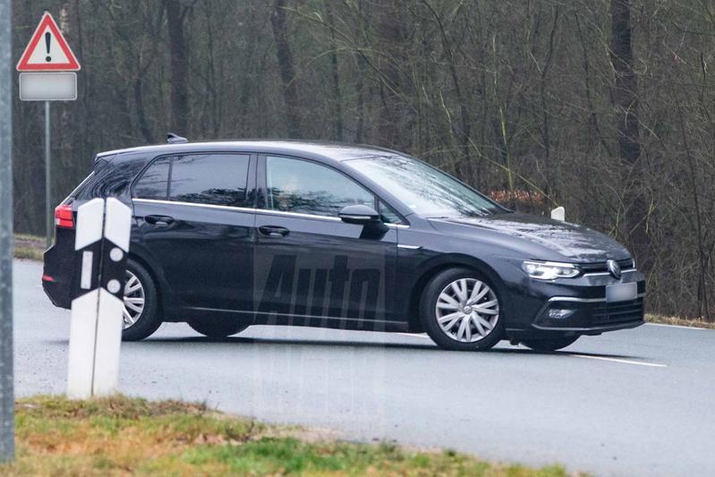 Volkswagen Golf 8 spionage Hanjo van Heiningen