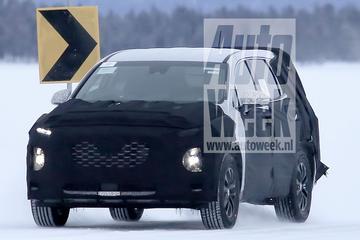 Gesnapt: nieuwe Hyundai Sante Fe