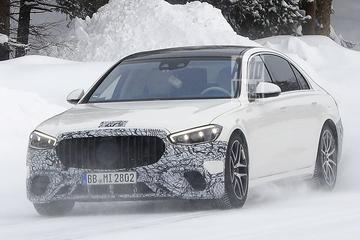 Plug-in hybride Mercedes-AMG S-klasse gesnapt