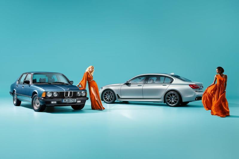 BMW 7-serie als Edition 40 Jahre