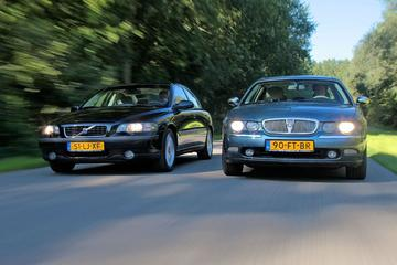 Dubbeltest - Volvo S60 2.4 vs Rover 75 V6