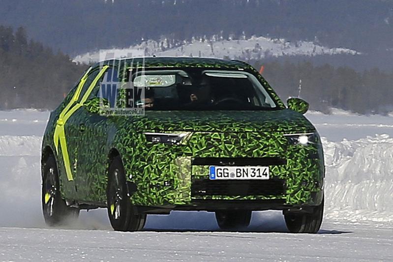 Spyshots Opel Mokka X