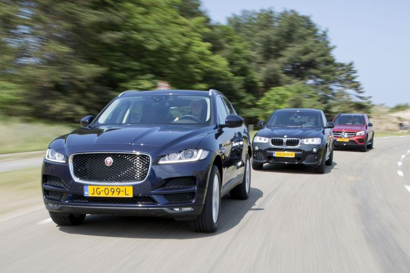 Triotest Jaguar F-Pace vs Mercedes GLC vs BMW X4